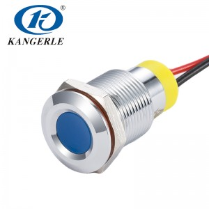 120 volt led indicator lights lamp indicator KEL6A-D12CXB