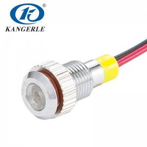 led indicator light 220v indicator pilot KEL6A-D8CW