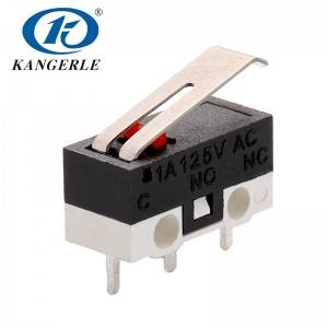 Miniature micro switch KW10-1A-13A