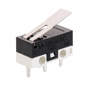 Micro switch 10a 250v t85 5e4 micro switch waterproof KW10-1A-2A