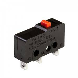 Micro switch ip67 sensitive micro switch KW12-10A-A02