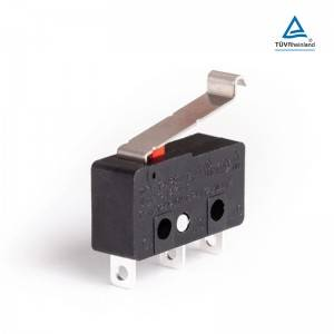 Micro switch 15a 250v push button latch switch KW12-3A-8A