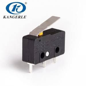 Latching micro switch KW12-5A-2C