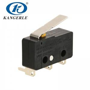 Micro switch KW12-5A-2D lever 17