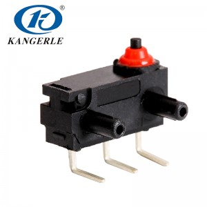 Waterproof mini micro switch KW2-1A-G-B401