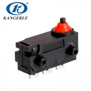 Waterproof  micro switch KW2-1A-H-B1001