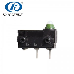 Waterproof micro switch 12v KW2-1C-D-B10 01