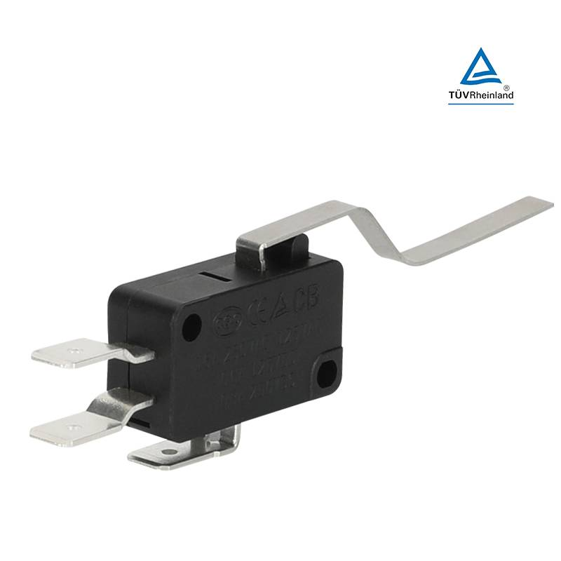 Micro switch limit switch micro switch 25t85 micro switch with lever actuator 3pins Featured Image