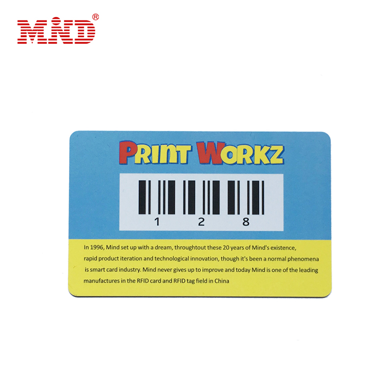 PriceList for Blank Table Place Cards - Barcode card – Mind