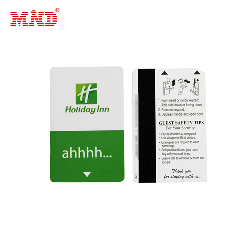 Best-Selling Plain Photo Cards - Magnetic stripe hotel keycard – Mind