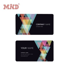 Fixed Competitive Price Plain White Playing Cards - Membership/Business card – Mind