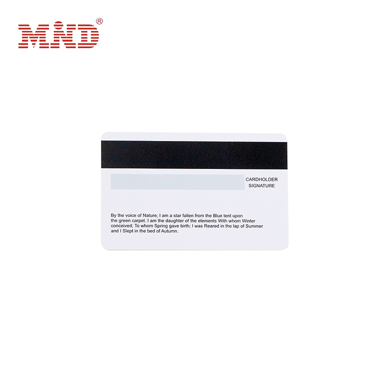 18 Years Factory Printed Nfc Cards - Magnetic stripe card – Mind
