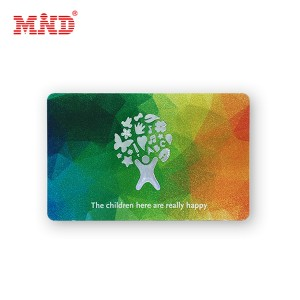 One of Hottest for Nfc Pvc Cards - 13.56Mhz HF rfid card – Mind