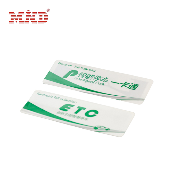 Wholesale Rfid Tag Range - RFID windshield tag – Mind