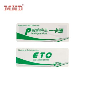Hot-selling Rfid Tag Distance Range - RFID windshield tag – Mind