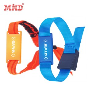 Discountable price Dual Frequency Rfid Tag - RFID woven wristband – Mind