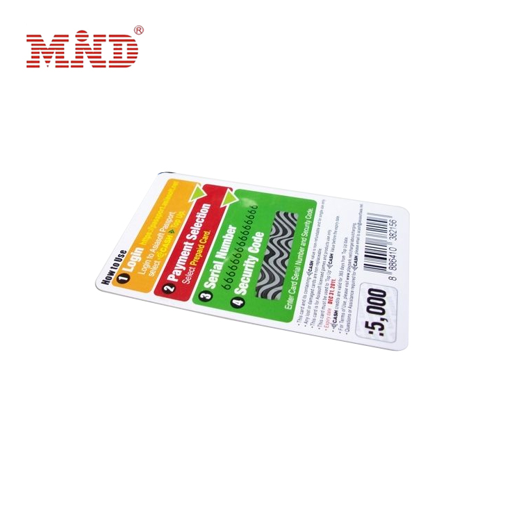 Factory Cheap Lift Card Access Control System - Scratch card – Mind