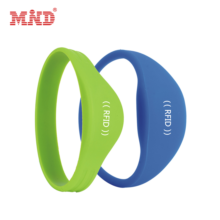 Bottom price Rfid Button Tag - RFID Silicone wristband – Mind Featured Image