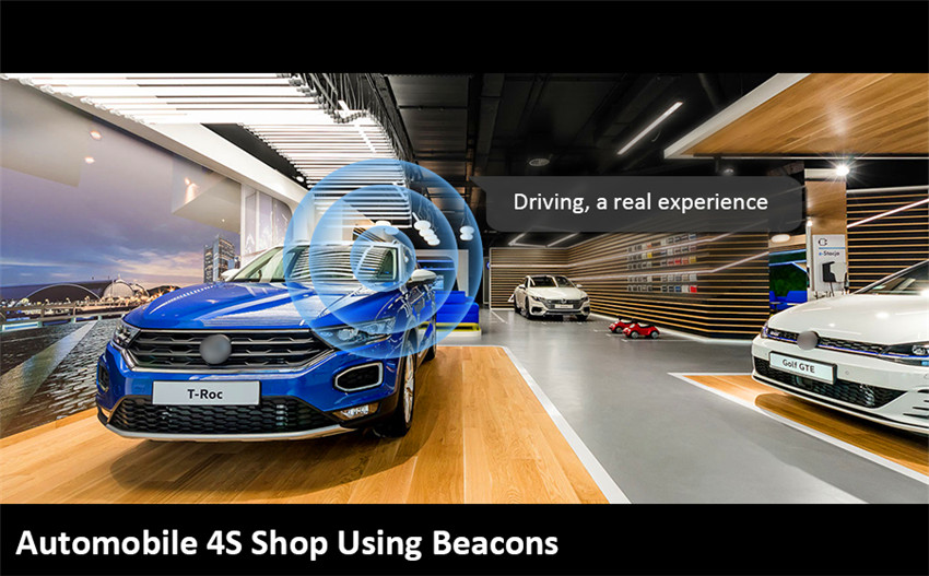 The Bluetooth iBeacon Use Case in Automobile 4S Shop