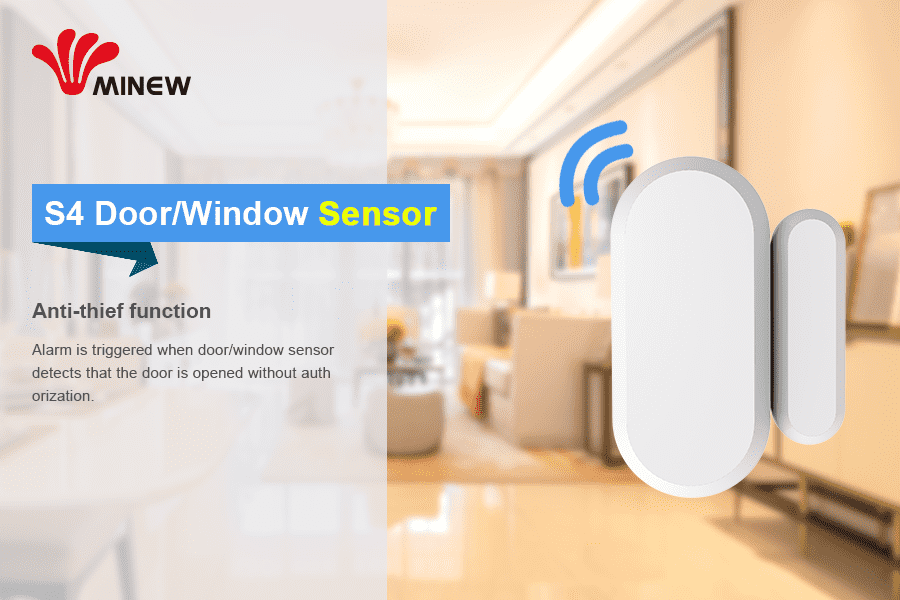 BLE5.0 Door/Window Sensor newly launched