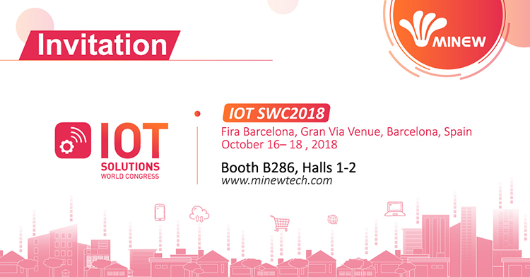 Meet Minew at the IoT Event Solutions World Congress 2018