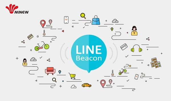 Minew releases new BLE Beacons that support Line Beacon