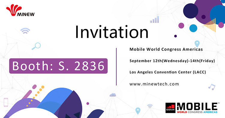 Join Minew at MWC Americas 2018 this September