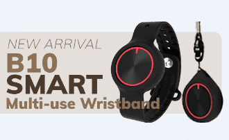 B10 Multi-use Wristband Debuts — Newest Personal Safety Device as Everyday Accessory for Seniors