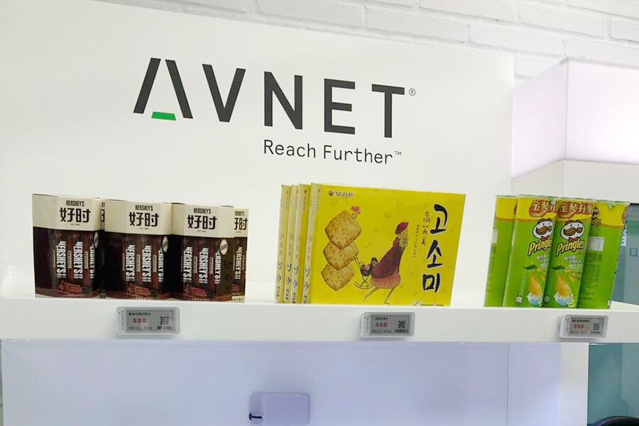 Minew Exhibit MTag Electronic Shelf Labels At The MWC Shanghai 2019