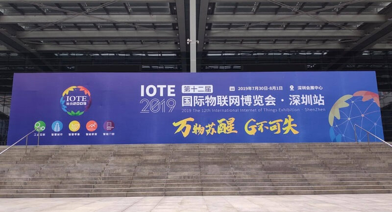 Minew Exhibits At IOTE 2019 Shenzhen