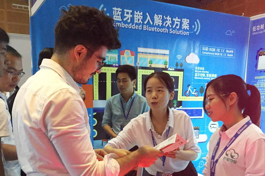 Minew's Bluetooth Asia 2019 successfully completed