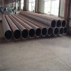 Erw Welded Sch40 Steel Pipe