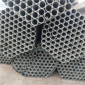 Galvanized Round Steel Pipe For Building Construction
