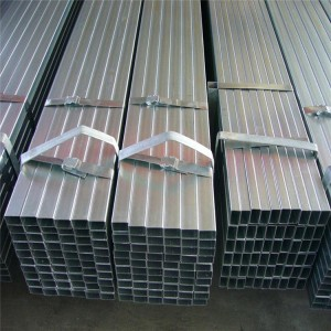 Galvanized Rectangular Steel Tube Q235