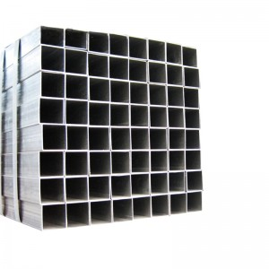 Galvanized Square Metal Construction Fence Pipe Steel Tube