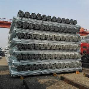 2 Inch Schedule 40 Hot Galvanized Steel Pipe Q195B / Buildings