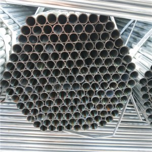 gi round carbon steel pipe green house