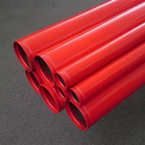 Shouldered End Galvanized Steel Pipe Q235
