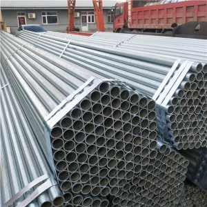 Galvanized Round Steel Pipe Price
