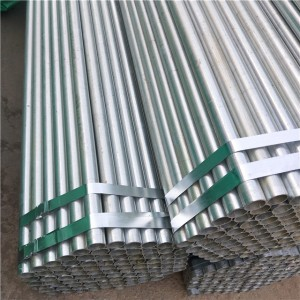 Galvanized Steel Pipe And Tube Round Steel Pipe