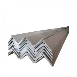 Construction Structural Mild Steel Angle Iron / Equal Angle Steel / Steel Angle Bar