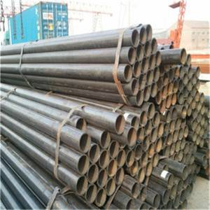 ERW Round Carbon Steel Pipe Q235B / Furniture Pipe