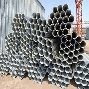 Steel Tube Welded Steel Pipe with Grooves / Fire Pipe