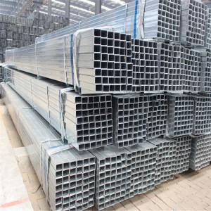 40×40 Weight Ms Square Pipe Hot Rolled Galvanized Square Tubes