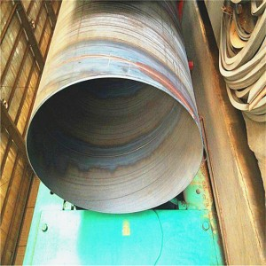 Spiral Welded Steel Pipe Mill