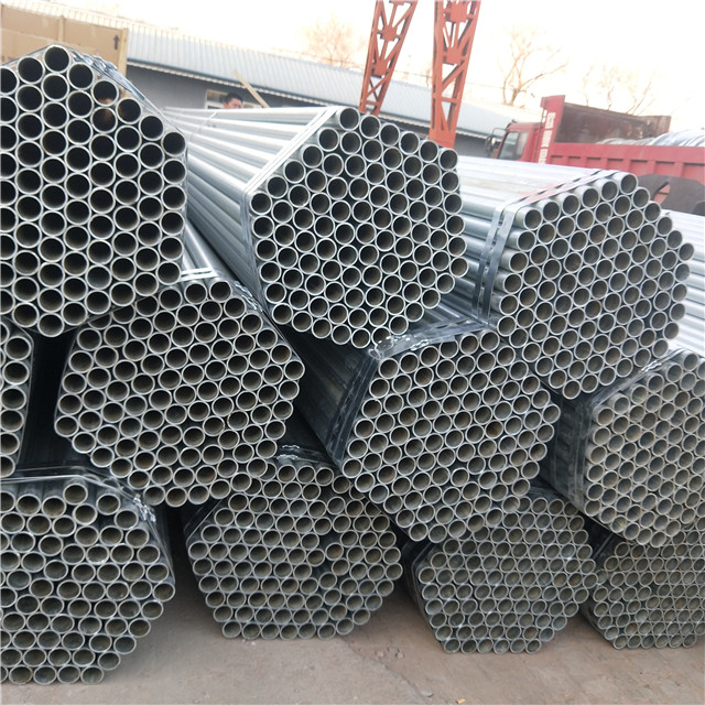 Round  Pre Galvanized Steel Pipe Featured Image