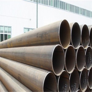 A53 Black Iron Pipe Erw Welded Steel Pipe