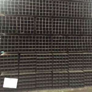 MS black iron square steel tube Q235 / building
