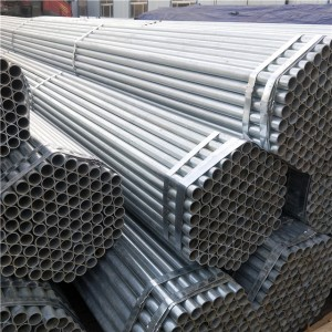 Cold Gi Galvanized Steel Pipe
