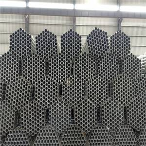 galvanized scaffoldling carbon steel pipe Q235 construction pipe